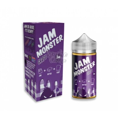 Жидкость Jam Monster Grape 100мл (3мг)