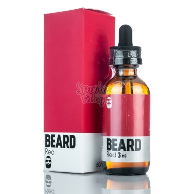 Жидкость The Beard Red 60мл (3мг)