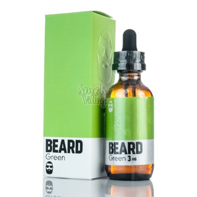 Жидкость The Beard Green 60мл (3мг)