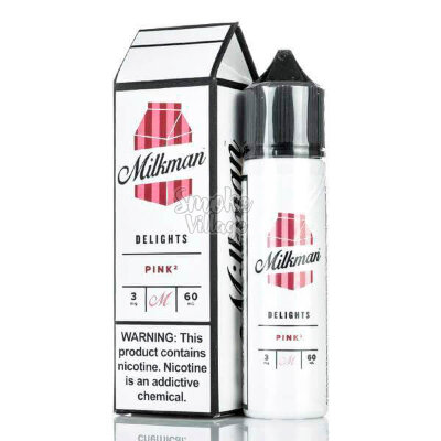 Pink by The Milkman Delights 60ml (3mg)