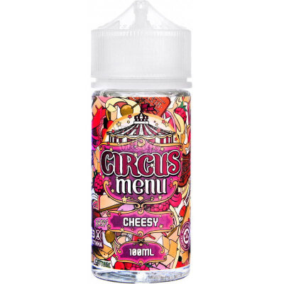 Circus Menu Cheesy 100ml (0mg)