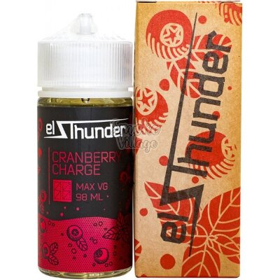 El Thunder (98ml) Cranberry Charge (0мг)