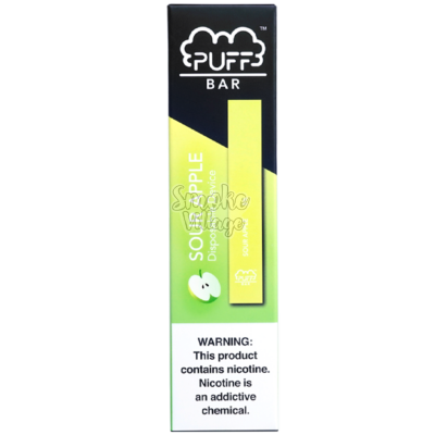 PUFF BAR Sour Apple (50мг)