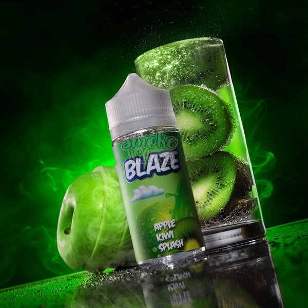 Жидкость Blaze Apple Kiwi Splash 120мл (3мг)