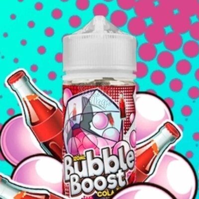 Cotton Candy Bubble Boost Cola 120ml (0/3мг)