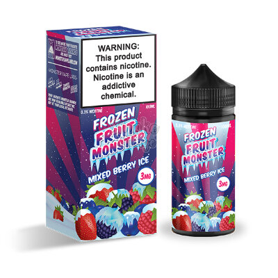 Frozen Fruit Monster - Mixed Berry Ice 100 мл (3мг)