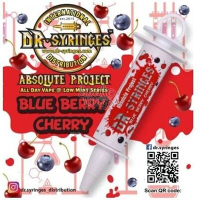 Dr. Syringes Blueberry Cherry 50мл (3мг)